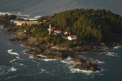 Lennard Island Lighthouse (Carrie Cole Photography) Tags: bc britishcolumbia canada carriecole carriecolephotography clayoquotsound island lennardisland pacificrimhighway templarchannel tofino vancouverisland aerial landscape lighthouse pacific pacificnorthwest scenic tourism travel westcoast wild