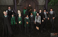 Slytherin House Picture (Hogwarts Mischief Managed) Tags: secondlife secondlifeharrypotter secondliferoleplay secondlifemischiefmanaged mischiefmanaged hogwartsmischiefmanaged hogwarts hogwartsroleplay sl slytherin ravenclaw hufflepuff gryffindor magic witch wizard student sortinghat spells