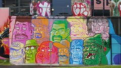 Choq... (colourourcity) Tags: streetart streetartaustralia streetartnow graffiti melbourne burncity awesome colourourcity original nofilters choq years year ye tsf ethihadstadium blenderstudios