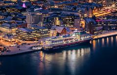 Tromsø landing stage (Steven-ch) Tags: norway tromsøutkikkspunkt ship radissonblu lapland artic eos6d scandic tromsø polarlys hurtigruten canon europe harbour travel troms no