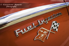 10th Annual Heights Car Show: Fuel Injection (Encountered Moments Photography) Tags: carshow car fisheye red checkeredflag chevy