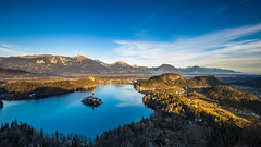 Lake Bled (michael.taferner) Tags: canon eos 6d 1635f4 water sky gold landscape slovenia nature island
