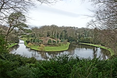 Lake (Sparky the Neon Cat) Tags: europe uk united kingdom gb great britain england north yorkshire studley royal surprise view anne boleyns seat fountains abbey landscape lake