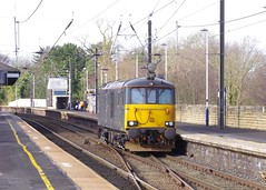 73971 at Morpeth (stephen.lewins (1,000 000 UP !)) Tags: class73 73971 caledonianrailway railways ecml morpeth northumberland