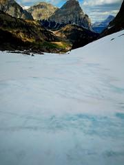 Blu Ice ski (GIORDANO STRAMARE) Tags: dolomiti skimountanering skimo skiap dynastar scarpa dynafit montura patagonia camp karpos freeride valdemesdí pizboè leki blackdiamond ice snow neve ghiaccio