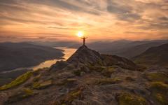Ben A'an (J McSporran) Tags: scotland trossachs lochlomondandtrossachsnationalpark benaan lochkatrine sunset selfie canon6d ef1635mmf4lisusm landscape
