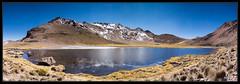 Sajama - Laguna Sorapata en panoramique (M@P31) Tags: oruro sonya77 landscape volcans bolivia randonnée condorigrande 2016 sudlipez sajama paysage altiplano chili chile sigma1770c thaki cordillère bolivie lagune andes lagunasorapata