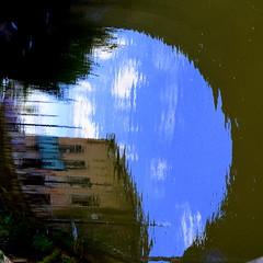 Un occhio di... riflesso (lory6093) Tags: riflesso acqua palazzo occhio