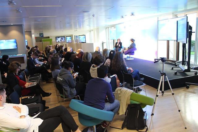 Adina Valean speaker at Startup Europe Week 2017