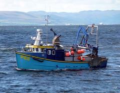 largs fishing boat. (Trevs Pics 2) Tags: largs ayrshire scotland fishingboat