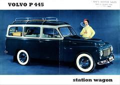 1958 Volvo P445 Station Wagon (aldenjewell) Tags: 1959 volvo p445 station wagon brochure