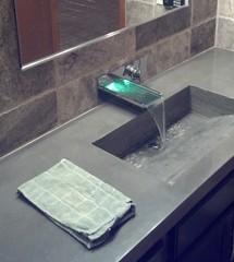 Integrally Colored Concrete Countertops (inspiration_de) Tags: architecture bathroom kitchen