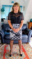 B & W (Trixy Deans) Tags: crossdresser cd cute crossdressing crossdress classy classic corset slip slips nylon xdresser sexy sexytransvestite sexyheels sexylegs sexyblonde tgirl tv transvestite transgendered transsexual tranny trixydeans tgirls transvesite trixy tg trans