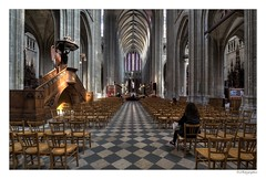 Cathédrale sainte-croix d'Orléans (JG Photographies) Tags: europe france french centre val de loire loiret orléans ville cathédrale jgphotographies canon 7dmarkii tramway hdrenfrançais