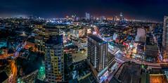 This. Is. Manila. (benewashere) Tags: buildings night nighttime lighttrails lights longexposure ust feu manila philippines university urban city landscape panorama cityscape sigma nikon