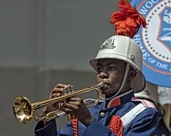 Blow That Horn (DASEye) Tags: davidadamson daseye nikon parade norfolk virginia va trumpet hornplayer trumpeter hornblower