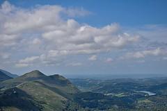 Les Pyrénées (Mystycat =^..^=) Tags: pyrénées hautespyrénées france midipyrénées picdujer montagne ciel nuages lourdes