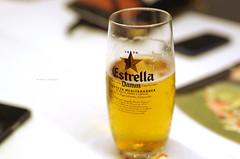 Estrella Damm Beer at Udon Bilbao (Iker Merodio | Photography) Tags: estrella damm beer garagardo bilbao udon bizkaia biscay basque country euskadi pentax k50 sigma 30mm art