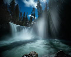 Water Fan (Maddog Murph) Tags: waterfall lassen shasta california water falls mist misty river forest aqua blue turquoise travel explore wander love nature beautiful composition flow