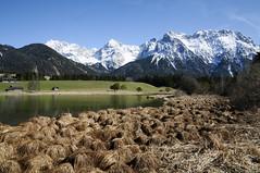 **Karwendel**Bavaria**Germany** (JohannesMayr) Tags: bayern oberbayern mittenwald bavaria germany lake see karwendel gebirge frühling spring schnee snow lautersee
