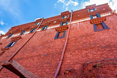Potala Palace, Lhasa, China Tibet (arnaud_martinez) Tags: blue buddhism china city cityscape exterior horizontal illuminated outdoors sky tourism town tree water white architectural architecture asia building builtconcepts culture day destination destinations east famous ideas indigenous landmark lhasa local monastery national nobody old palace park past place potala royal shape squarestructure stylestemple tibet tibetan travel urban view