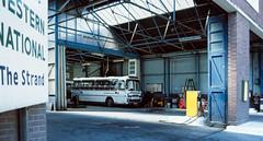 Photo of WCB144 - Western National Barnstaple Bus Depot, Devon