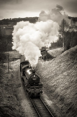 Keighley and Worth Valley Railway steam train (Mariusz Talarek) Tags: keighley mtphotography westyorkshire yorkshire keighleyworthvalleyrailway lancdscapephotography landscape landscapephoto landscapephotographer outdoor outdoorphotographer outdoorphotography outdoors photography railway steamtrain train worthvalley