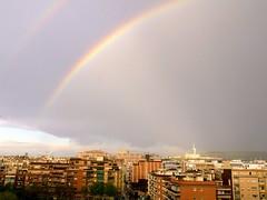 Rainbow in Barcelona (bodaanabernat) Tags: arcdesantmartí barcelona catalonia catalunya arcoiris rainbow