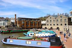 Harbourside, Bristol (Samantha Tyson) Tags: bristol suspension bridge brandon park hill harbourside harbour sunset clifton dog tower daffodils