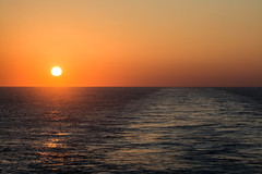 Happy Easter everyone! (-gregg-) Tags: sunset ocean sky cruise
