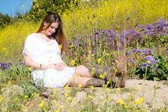 IMG_0131 (photos_by_EmilyRose) Tags: maternity flowers field momtobe babybump baby