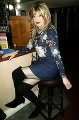 Week Difference (Amber :-)) Tags: denim mini skirt tgirl transvestite crossdressing