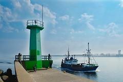 "Wladyslawowo port (Piotr Tylski) Tags: wladyslawowo fujifilmxe1"" fuji poland polska wejherowo landscape vacations nature art europe travel macphun luminar baltic sea puckbay"