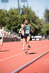 Titi finishing (Malcolm Slaney) Tags: 200m 2017 stanfordinvitational track trackandfield