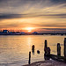 Felixstowe Ferry Sunset