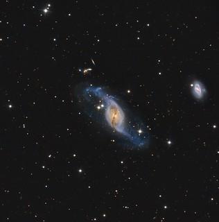NGC 3718/3729 and Hickson 56