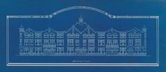 Woningen aan de Paterswoldseweg 19-33, Peizerweg 1-17 en de Van Speykstraat 2-24, in 1913/14 gebouwd i.o.v. de Gebr. Christiaan en Pieter Keiser & Geert Ronner, mogelijk ontworpen door architect Pieter van de Wint (1865-1940). (hansr.vanderwoude) Tags: hansrvanderwoude architecture pvandewint pietervandewint paterswoldseweg peizerweg speykstraat ronner drewes
