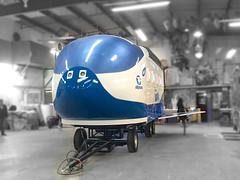 Vehículo Nave Alpura exterior (El Volador S.A.) Tags: nave espacial alpura leche niños kids mexico volador elvolador proyecto vehiculopublicitario vehiculo btl publicidad