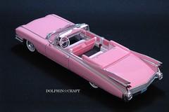 1959 Cadillac ELDORADO BIARRITZ 5 (DOLPHIN☆CRAFT) Tags: プラモデル モノグラム コンバーチブル ビアリッツ エルドラド キャデラック monogram convertible biarritz eldorado cadillac 1959