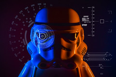 Stormtrooper Bill Tactical (neil rushby photography) Tags: stormtrooper star wars starwars disney lego flash photography colour colourful lights lighting lightpainting