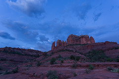 Sedona Red in the Blue Hour (Ken Krach Photography) Tags: sedonaarizona cathedralrock