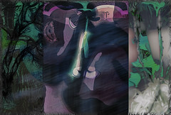 Caliban (seguicollar) Tags: caliban máscara ojos boca nariz botones cejas mariposa alas árbol shakespeare latempestad imagencreativa photomanipulación art arte artecreativo artedigital virginiaseguí hebilla