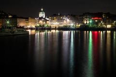 Pentacon-29-2.8---f11-53-sec (simonealbini) Tags: pentacon2928 como lago lario notturna lungolago paesaggio city italia