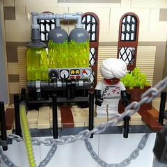 Vernite tanks (Zilmrud) Tags: moc lego steampunk mutant laboratorium lab palace cinema brick bank swebrick ruins san victoria minifigs minifigure custom figures building steam punk