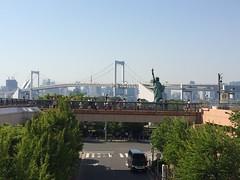 View of Odaiba (walking.biking.japan) Tags: myphoto tokyo kotoku tokyowalk river daiba