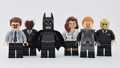 LEGO Batman Begins (Alex THELEGOFAN) Tags: lego legography minifigure minifigures minifig minifigurine minifigs minifigurines movie dc comics super heroes villains villain ras al gul scarecrow batman commissioner gordon lucius fox rachel begins