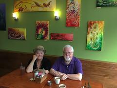 Andee & Steve at Oak Street Cafe. New Orleans, LA (davidwilliamreed) Tags: andee steve sister brother oakstreetcafe neworleansla