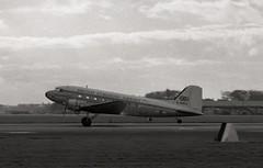G-AMKE. British European Airways Douglas C-47B (Ayronautica) Tags: 1958 october dakota douglasc47b bea britisheuropeanairways aviation scanned airliner propliner prestwick egpk pik gamke ayronautica