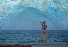 Ice age coming (ashokboghani) Tags: photoshop photoshopart fantasy sciencefiction iceage bikini