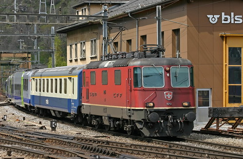 SBB Re 4/4 II 11251 BLS-Zug, Brig